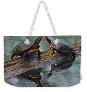 Midland Painted Turtles Weekender Tote Bag