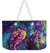 Midnight Kiss  Weekender Tote Bag