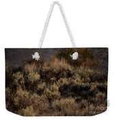 Midnight Sage Brush Weekender Tote Bag