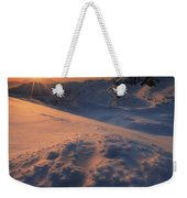 Midnight Sun Above Lilletinden Weekender Tote Bag