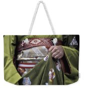 Midsection Of Apprentice Geisha - Maiko Weekender Tote Bag