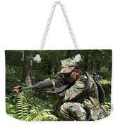 Midshipman Participates In A Combat Weekender Tote Bag