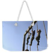 Midshipmen Tackle The Ropes Portion Weekender Tote Bag