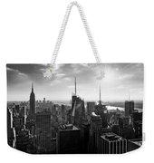 Midtown Skyline Infrared Weekender Tote Bag