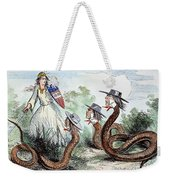 Midwest Copperheads, 1863 Weekender Tote Bag