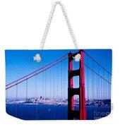 Mighty Golden Gate Weekender Tote Bag