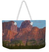 Mighty Mountains Weekender Tote Bag
