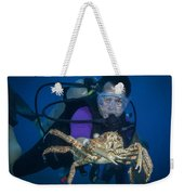 Mike And The Crab Weekender Tote Bag