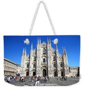 Milan Duomo Cathedral Weekender Tote Bag
