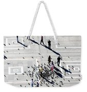 Milan Duomo Square Weekender Tote Bag