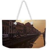 Milan Naviglio Grande Weekender Tote Bag