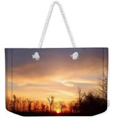 Mild Morning Weekender Tote Bag