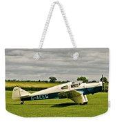 Miles M.3 Falcon Circa 1934 Weekender Tote Bag
