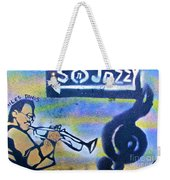 Miles Of Jazz Weekender Tote Bag