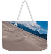 Miles Of Sand Weekender Tote Bag