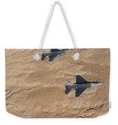 Military Fighter Jets Fly In Formation Weekender Tote Bag