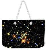 Milky Way Star Cluster Weekender Tote Bag