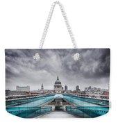 Millenium Bridge London Weekender Tote Bag