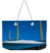 Millennium Dome Abstract Weekender Tote Bag