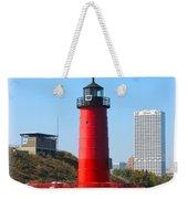 Milwaukee Harbor Lighthouse Weekender Tote Bag