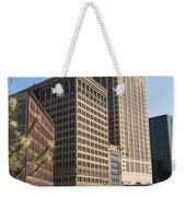 Milwaukee River And Skywalk Weekender Tote Bag