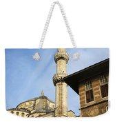 Minaret Of The Blue Mosque Weekender Tote Bag