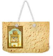 Minaret Through A Window Weekender Tote Bag