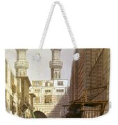 Minarets And Grand Entrance Of The Metwaleys At Cairo Weekender Tote Bag