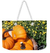 Mini Pumpkins Weekender Tote Bag by Kimberly Perry
