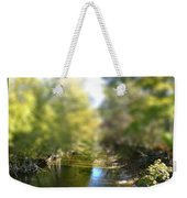 Mini Stream Weekender Tote Bag