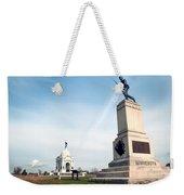 Minnesota Monument At Gettysburg Weekender Tote Bag
