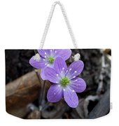 Minnesota Spring Wildflower Weekender Tote Bag