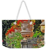Mirabell Gardens In Salzburg Hdr Weekender Tote Bag by Mary Machare