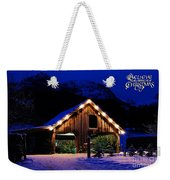 Miracle Of Christmas Weekender Tote Bag
