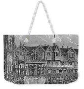 Miracle Play, 15th Century Weekender Tote Bag