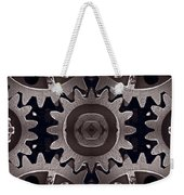 Mirror Gears Weekender Tote Bag by Steve Gadomski