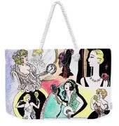 Mirror Ladies Weekender Tote Bag