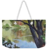 Mirror Reflection Weekender Tote Bag