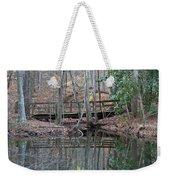 Mirrored Bridge Weekender Tote Bag