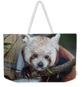 Mischievious Red Panda Weekender Tote Bag