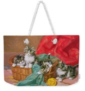 Mischievous Kittens Weekender Tote Bag