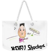 Mishell Shocked Weekender Tote Bag