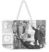 Missing The Streetcar Weekender Tote Bag