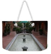 Mission Inn Roof Top Pond Weekender Tote Bag