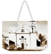 Mission San Luis Rey In Sepia Weekender Tote Bag by Kip DeVore