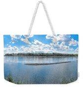Mississippi River Panorama Weekender Tote Bag