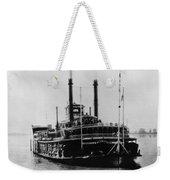 Mississippi Steamboat, 1926 Weekender Tote Bag