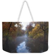 Mist Along The Wissahickon Weekender Tote Bag