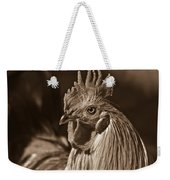 Mister Rooster From The Barnyard Weekender Tote Bag