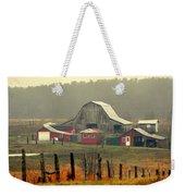 Misty Barn Weekender Tote Bag